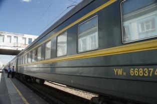 Moskau - Ulan Bator