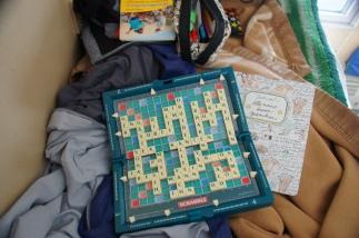 Scrabble in der Transsib