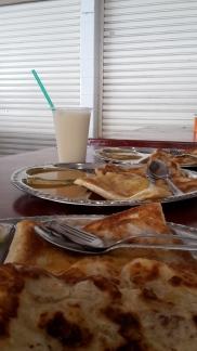 Indisches Frühstück + Soyamilch
