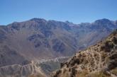 Ausblick auf die Dörfer im Colca Canyon