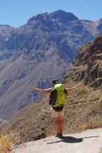 Sarah im Colca Canyon