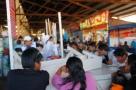 Essen auf dem Markt San Pedro in Cusco