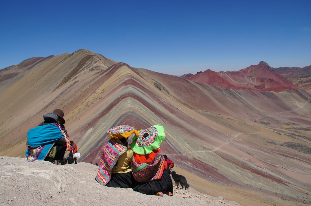 Rainbow Mountains auf 5100m